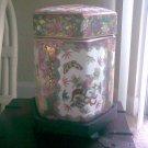 Antique Asian White Tobacco Jar