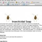 How To Make Insecticidal Soaps - Homemade Organic Insecticidal Soap Recipe