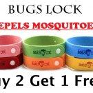 Mosquito Repellent Bracelet - Wrist Band / Strap - Non Toxic - Silicone - Citronella & Lavender Oil