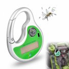 Solar Mosquito Repellent / Blocker / Repeller - Clip With Compass