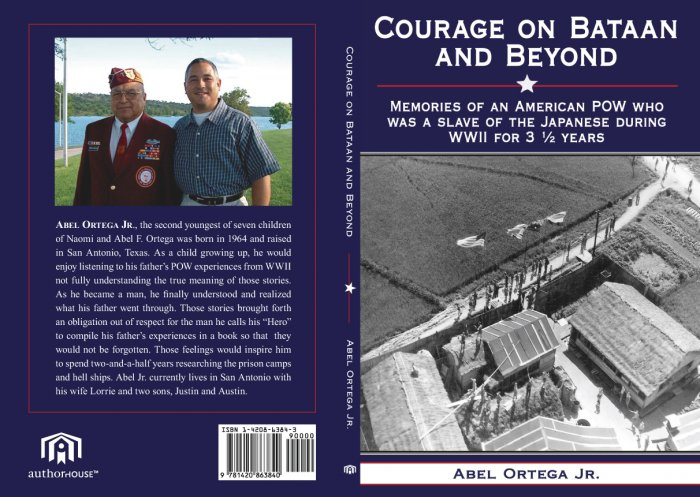 Courage on Bataan And Beyond by Abel Ortega