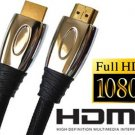 Premium Gold 10 Foot HDMI Cable For PS3 Xbox 360® HDTV 1080P Blue Ray