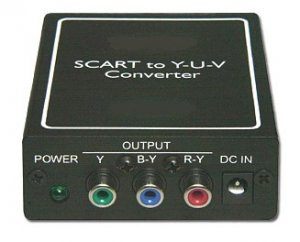 SCART RGB To Component Converter / Scaler / Adapter