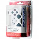Classic White DualShock® 3 Bluetooth Wireless SIXAXIS® Controller For PS3®