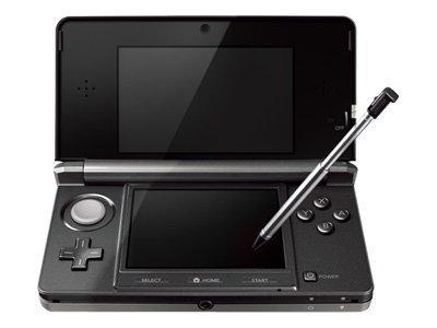 Nintendo 3DS Handheld Game Console Black - Open Box