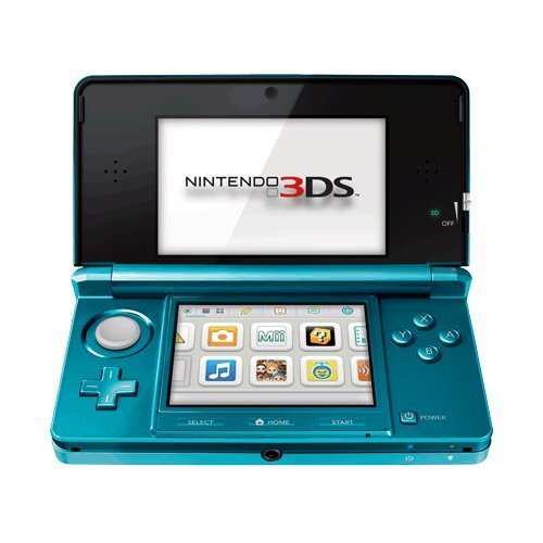 Nintendo 3DS Handheld Game Console Aqua Blue - Open Box