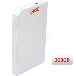 320GB USB External Hard Drive For Wii / PS3 / Xbox 360® / PC - 2.5 Inch - White / Black / Grey