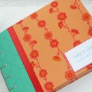 Custom Guest Book you Pick Cover and Page Layout