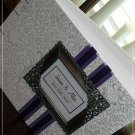 Framed Monogram Custom Wedding Guest Book