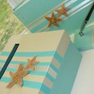 Beach Theme Custom Wedding Guest Book