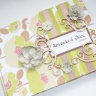Embellished Cover Custom Wedding Guest Book