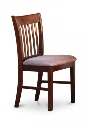 set of 4 norfolk dinette kitchen dining chairs with upholstered seat