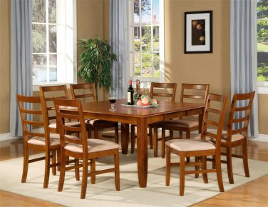 Parfait Square Gathering Dining Table with out Chair (54x54x36), SKU: PFL07-T-SABR