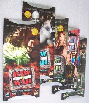 WWE Raw Is War Wrestling VCD 2000 - 10 Complete Episodes - Free Shipping Worldwide