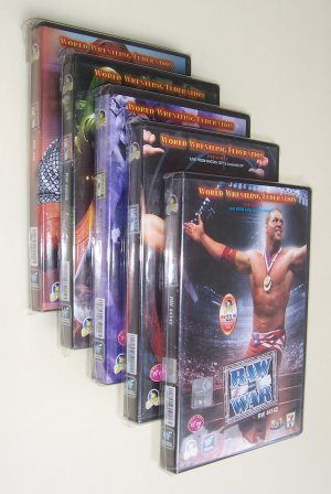 WWF Raw Is War VCD 2001 - 9 Complete Episodes - Free Shipping Worldwide