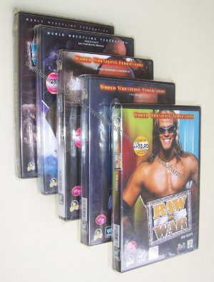 WWF Raw Is War VCD 2001 to 2002 - 10 Complete Episodes - Free Shipping Worldwide