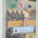 Desert Storm - War in the Gulf on VCD (1997 - 1998) New & Sealed - Free Shipping To All Countries
