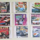 9 VCDs of Cars Crash, Bikes Crash, Boats Crash - Free Shipping To All Countries