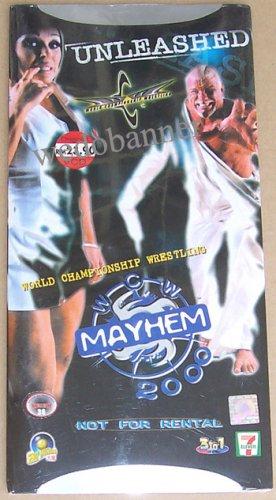 WCW Mayhem (2000) PPV VCD - New & Sealed - Free Shipping Worldwide