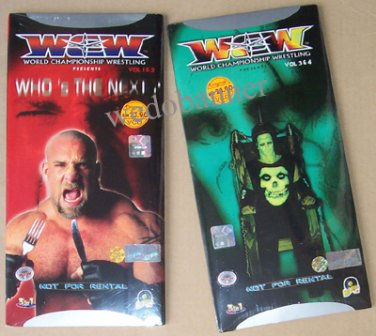 WCW Monday Nitro (1999) VCD - 3 Complete Episodes - New & Sealed - Free Shipping Worldwide