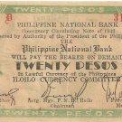 Philippine Iloilo 1942 S315 ROOSEVELT UNC Range 1 to 55,200  Your Serial 31,280