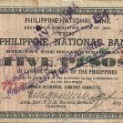 Philippines 1941 Negros Occidental 5 Pesos Emergency Note TYPE II C/S S614 RARE Serial is 7,713