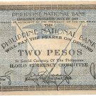 Philippine Iloilo 1941 2 Pesos Note S306 Serial Numbers Range 1 to 942K Seria l#731125