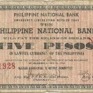 Philippines S617 1941 Negros Occidental 5 Pesos Note TYPE III RARE Scarce gn (#21,928) Plate C