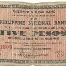 Philippines S617 1941 Negros Occidental 5 Pesos Note TYPE III RARE Scarce gn (#21,608) Plate C