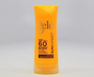 BELO Sun Expert Body Shield SPF60 Moisturizing Sunscreen UVA-UVB Broad Spectrum