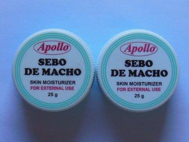 X2 Apollo Sebo De Macho Skin Moisturizer Scar Remover Makeup Base Foundation