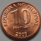 10 Sentimo 2009 Philippines Coin KM#270.2 Uncirculated