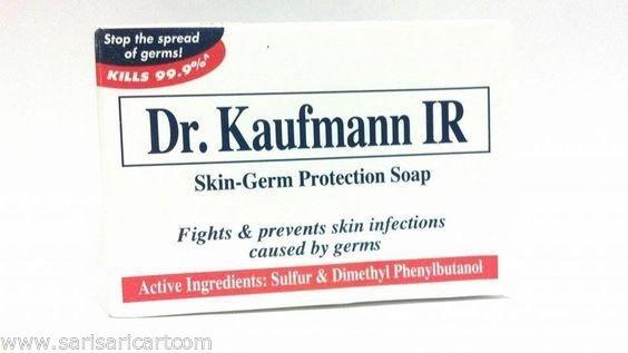 Dr  Kaufmann IR All Skin Germ Protection Sulfur Soap Fights Skin