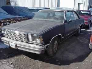 1981 Malibu 2 door V8