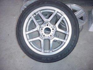 2004 Corvette Z06 / Z16 OEM Rim and Tire