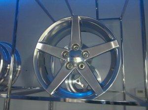 C6 Corvette Wheels/ Polished Aluminum (Set of 4)