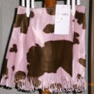 PINKED BROW SKIRT WITH FRINZE FLOWERS BY ZOE