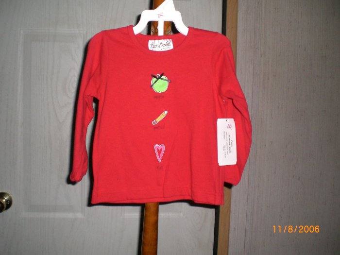 COCKA DODOLES RED LONG SLEEVE SHIRT