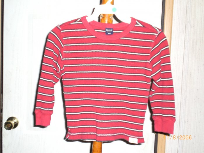 COCKA DOODLES STRIPPED LONG SLEEVE SHIRT