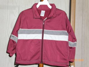 MAROON TOUCH DOWN JACKET