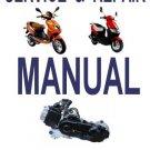 GY6 50cc Scooter Service Repair Manual Rebuild Fix Chinese Xingyu Xinling Xiongtai Yamasaki Yiben
