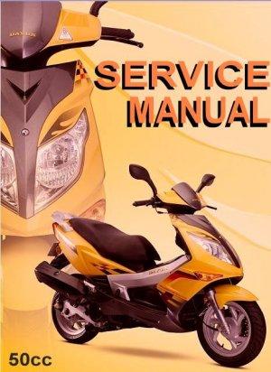 GY6 50cc Scooter Service Repair Manual Rebuild Fix Chinese Longbo  Xingyue  Merato  Peace LPG TNG
