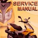 Scooter 50cc GY6 50 Service Repair Manual VIP Roketa Kazuma