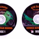 Chinese scooter GY6 50cc 150cc 250cc Repair Manual on CD plus Piaggio, Lambretta, Peace Sports, VIP