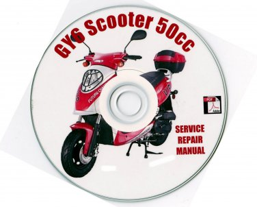 Scooter 50cc 50 GY6 Service Repair Manual Hitong Kasea
