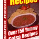Over 150 Yummy Salsa Recipes eBook on CD