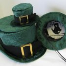 Green Hat for St Patrick's Day Top Hat for Dogs size small