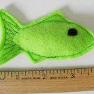 Catnip toy fish