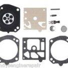 Husqvarna 359, 357 XP K24-HDA Carburetor Repair Rebuild Overhaul Kit, Walbro