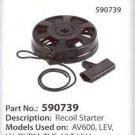 OEM Tecumseh 590739 Recoil Rewind Pull Starter assembly